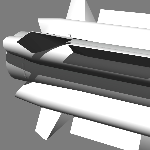 russian as-17 alcm 3d model 3ds dxf fbx blend dae x  cod scn obj 131294