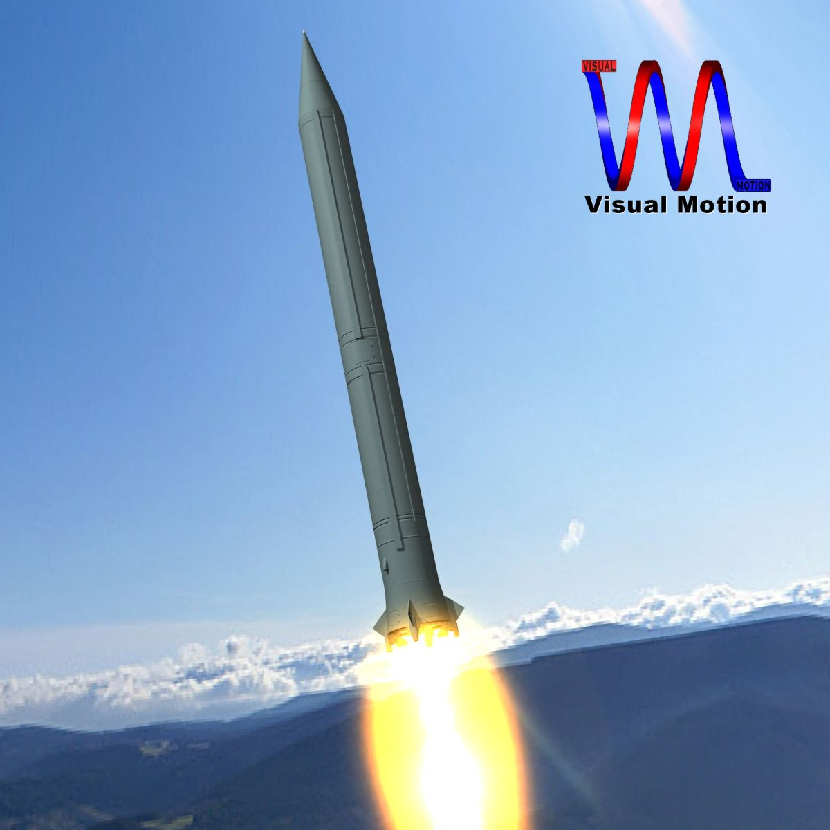 russian ss-4 sandel missile 3d model 3ds dxf x cod scn obj 149740