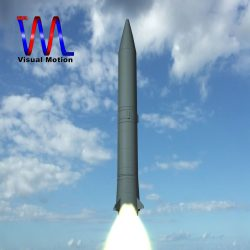 Russian SS-5 Skean Missile ( 88.72KB jpg by VisualMotion )