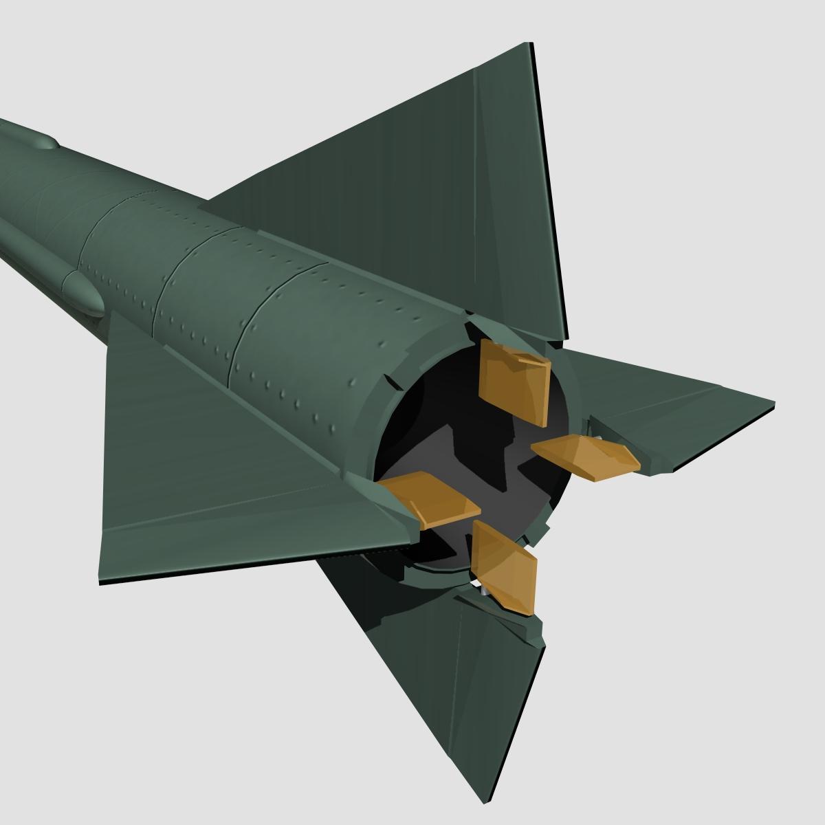 us mgm-5 corporal missile 3d model 3ds dxf x cod scn obj 149917
