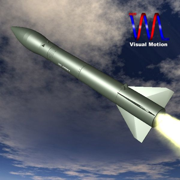 us mrg-1b honest john missile 3d model 3ds dxf cob x obj 150383