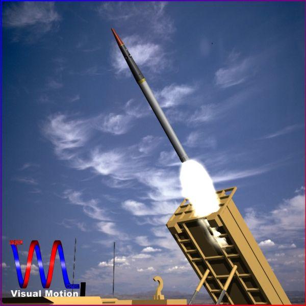 us thaad raketa 3d model 3ds dxf cob x obj 151348