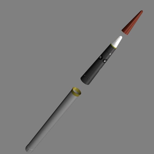 us thaad missile 3d model 3ds dxf cob x obj 151352