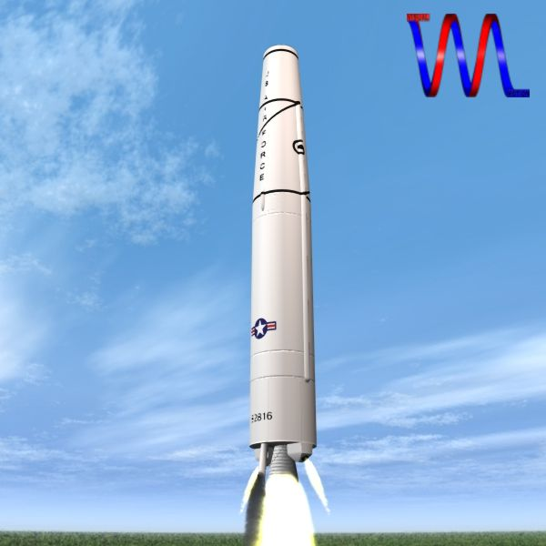 us thor irbm missile 3d model 3ds dxf cob x obj 150759