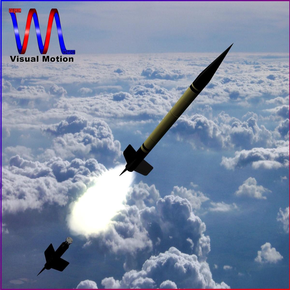 us wac corporal rocket 3d model 3ds dxf x cod scn obj 149605