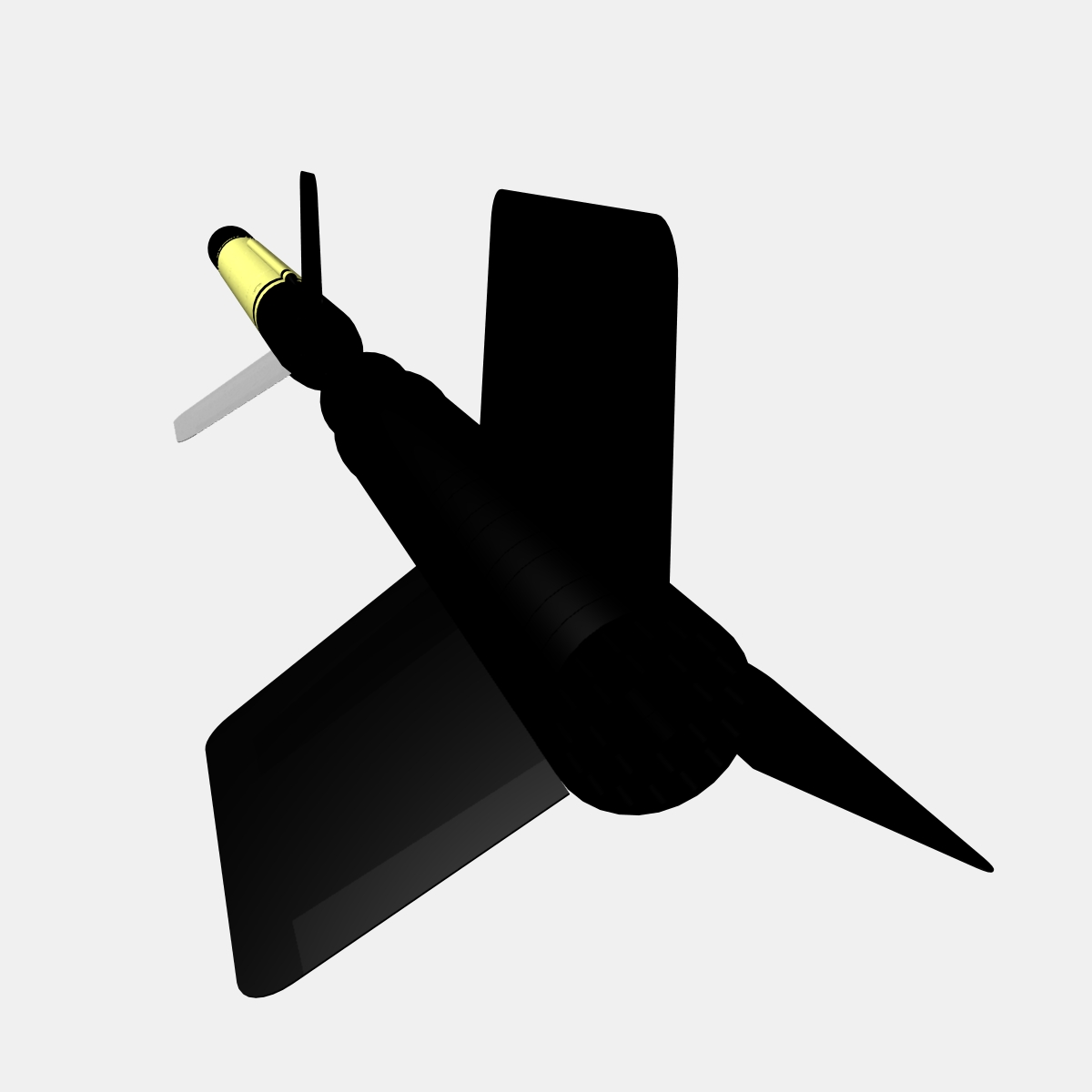 us wac corporal rocket 3d model 3ds dxf x cod scn obj 149612