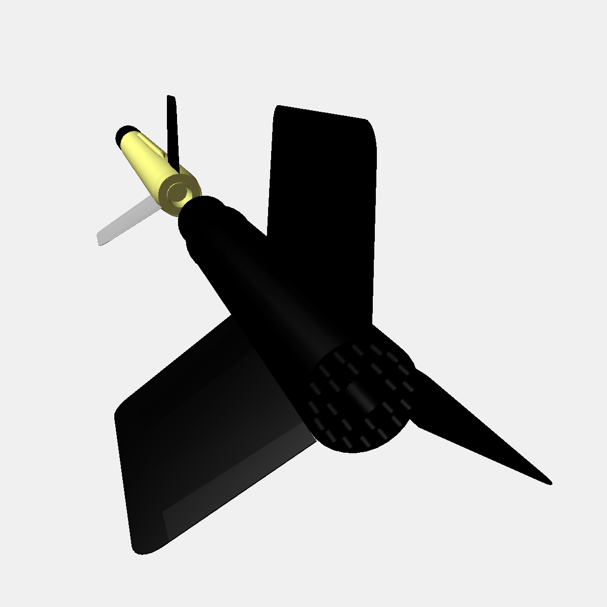 us wac corporal rocket 3d model 3ds dxf x cod scn obj 149618