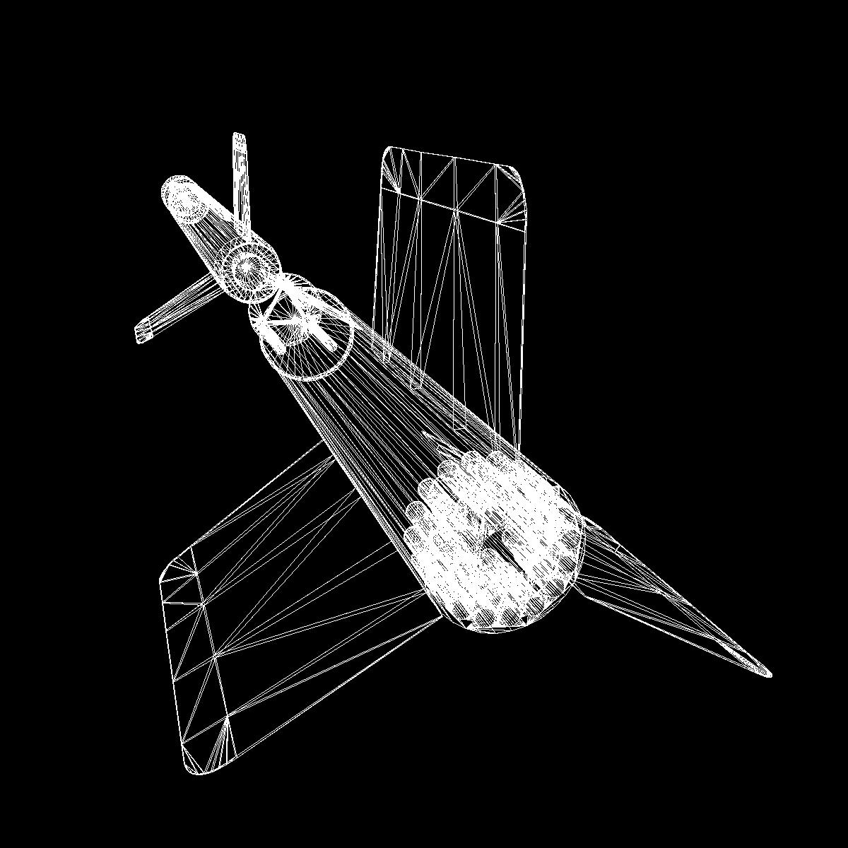 us wac corporal rocket 3d model 3ds dxf x cod scn obj 149636