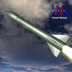 US MRG-1B Honest John Missile ( 39.36KB jpg by VisualMotion )