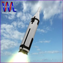 US Navy UGM-27 Polaris A1 Ballistic Missile ( 103.77KB jpg by VisualMotion )