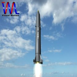 US PGM-11 Redstone Missile ( 91.35KB jpg by VisualMotion )