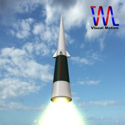 US Sprint Missile ( 91.51KB jpg by VisualMotion )