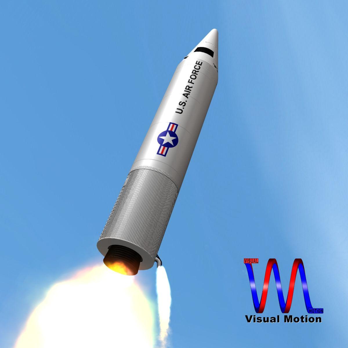 сансрын нитратын пуужин 3d загвар 3ds dxf x сагамхай scn obj 149768