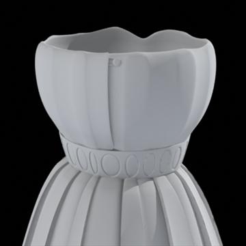 pleated skirt dress 3d model fbx lwo other obj 97814