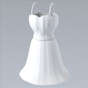 short dress 3d model fbx lwo obj other 98258