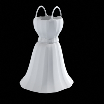 short dress 3d model fbx lwo obj other 98261