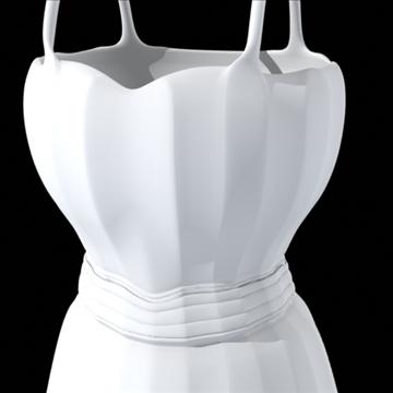short dress 3d model fbx lwo obj other 98262