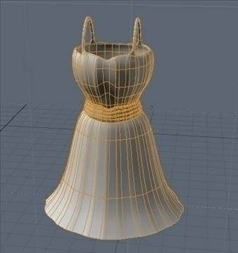 short dress 3d model fbx lwo obj other 98263