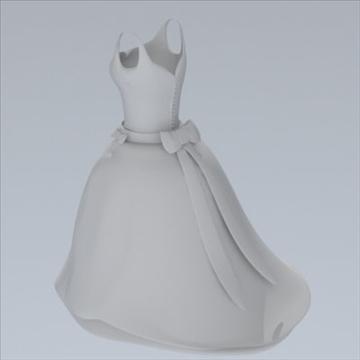 wedding dress 3d model fbx lwo other obj 110373