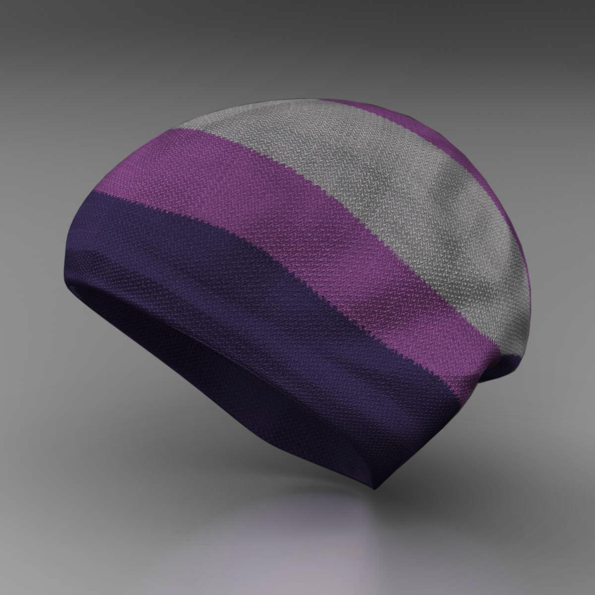 Wool cap 3d model 3ds max fbx c4d ma mb obj 160731