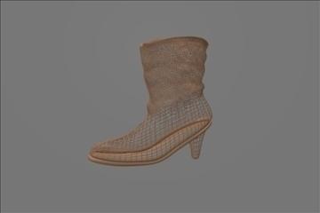 boots womens casual 3d model blend 100807