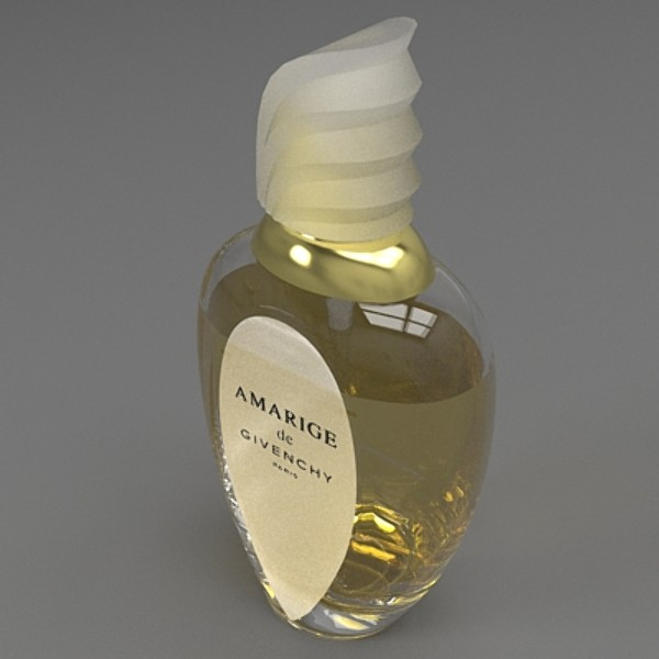 amarige perfumy 3d model 3ds fbx skp obj 115256
