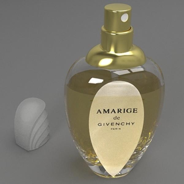 amarige perfume 3d model 3ds fbx skp obj 115257
