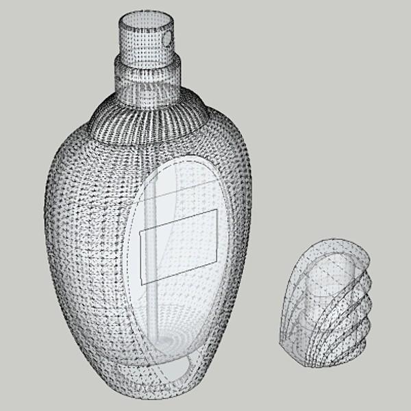 amarige perfume 3d model 3ds fbx skp obj 115260