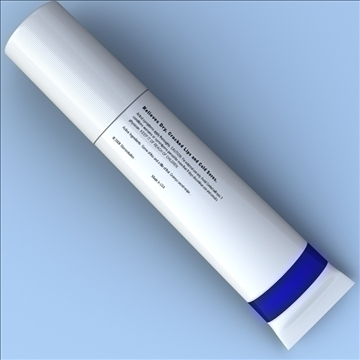 lip balm 3d model 3ds max fbx lwo hrc xsi obj 106287