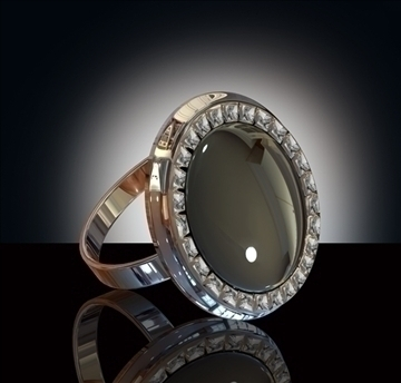 ze ring 3d model obj 96893